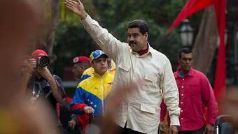 Weiss den Obersten Gerichtshof des Landes auf seiner Seite: Venezuelas Präsident Maduro setzt sich zum zweiten Mal gegen die Opposition durch.
