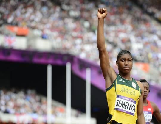 In London holte sie sich dann an den olympischen Spielen die Goldmedaille.