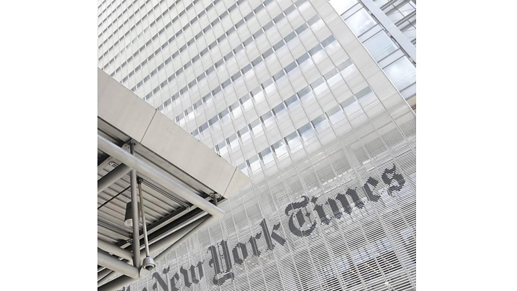 «New York Times» bringt ungewöhnliche Titelseite für Corona-Tote