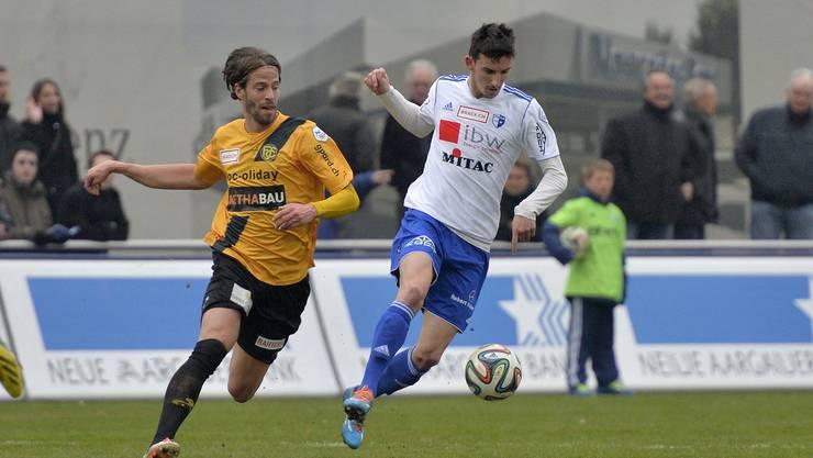 FC Wohlen ist das erste Mal seit letzten September über dem Strich platziert.