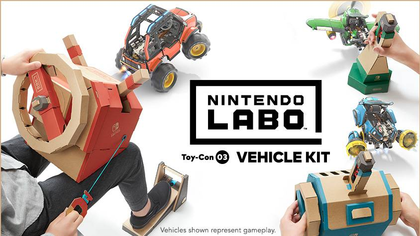 Karton-Spass mit «Nintendo Labo»