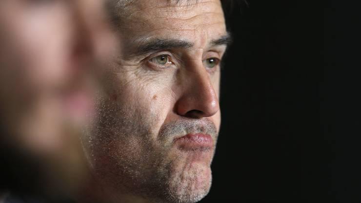 Harter Schlag: Lopetegui verpasst wegen seiner Anstellung bei Real Madrid die WM als Spanien-Trainer.