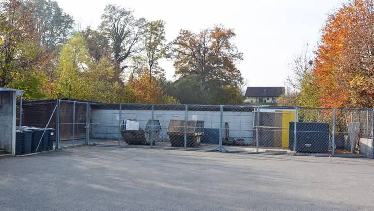 Der Muldenplatz Täli wird auf Ende dieses Jahres geschlossen.
