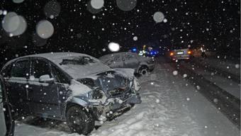 Unfall auf der A6 mit sechs Verletzten