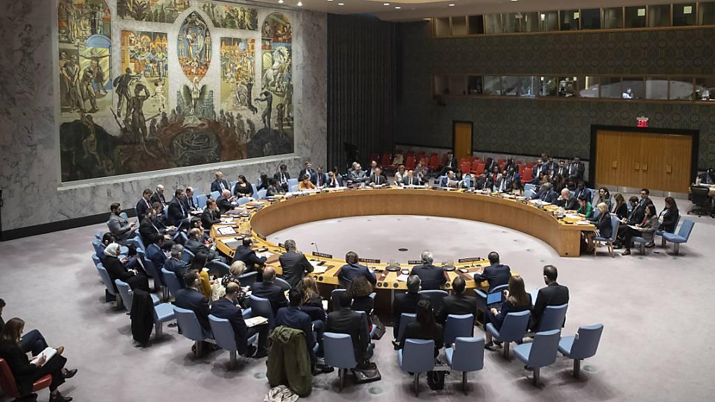 Auch russischer Vorschlag scheitert im Uno-Sicherheitsrat
