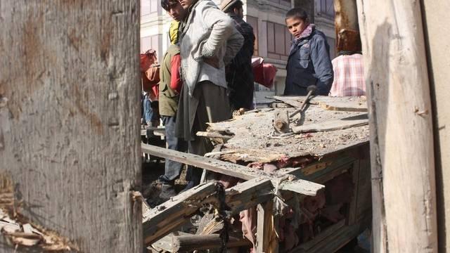 Bei den Raketenangriffen im Vorfeld des zweiten Tages der Loja Dschirga in Kabul kamen keine Menschen ums Leben