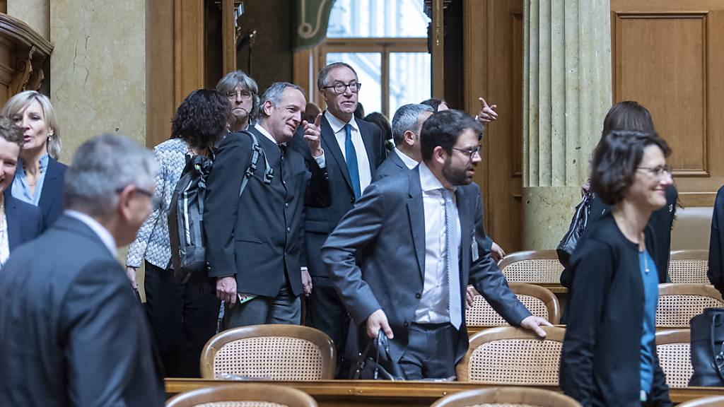 Neulinge erstmals auf Tuchfühlung mit dem Bundeshaus