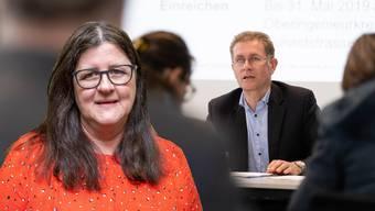 Scheut sich nicht, auch SVP-Regierungsräten wie Christoph Neuhaus ihre Meinung zu sagen: Silvia Stöckli, Gemeindepräsidentin (SVP) von Lüterswil SO. (tamedia/mls)