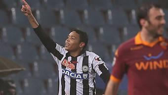 Luis Muriel erzielte das 1:1 für Udinese.