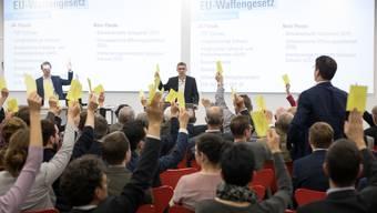 FDP Aargau stimmt für EU-Waffenrecht