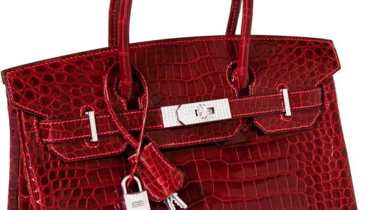 Die 2011 in Dallas versteigerte Hermès-Handtasche