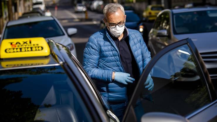 Taxifahrer erhalten keine Erwerbsentschädigung mehr. (Symbolbild)