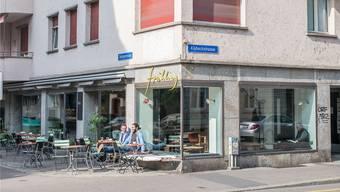 Das Café Frühling an der Klybeckstrasse 69.