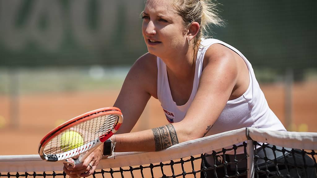 Bacsinszky hängt Racket an den Nagel