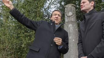"""Zwei Westschweizer FDP-Politiker haben genug. Pascal Broulis (l.) und Pierre Maudet klagen gegen einen """"Tages-Anzeiger""""-Journalisten. (Archiv)"""