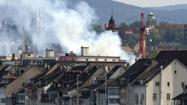 Hoher Sachschaden nach Brand in Basler Altstadt