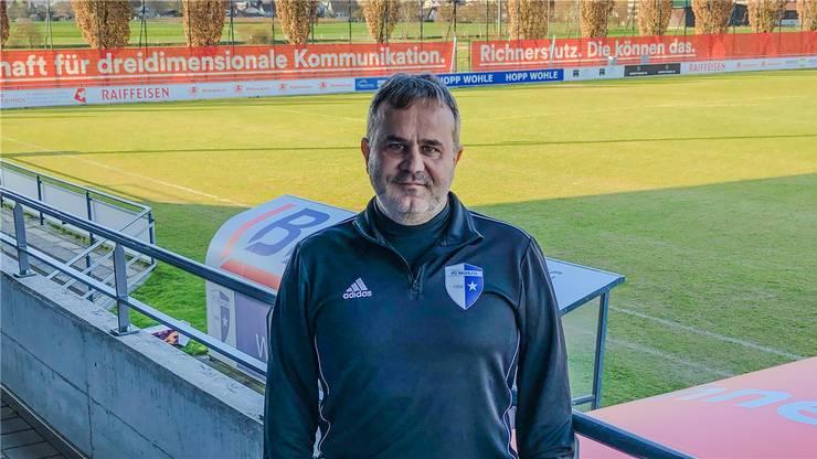 Wohlen-Trainer Thomas Jent kann sorglos mit seiner Mannschaft in die Vorbereitung starten.