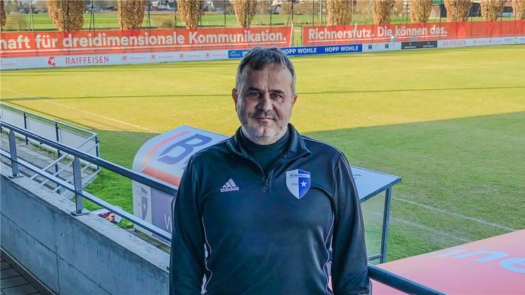 Der neue Wohlen Coach FCW Coach Thomas Jent.