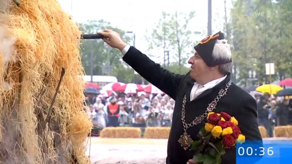Luzerner Zunft zu Safran zu Gast am Sächsilüüte
