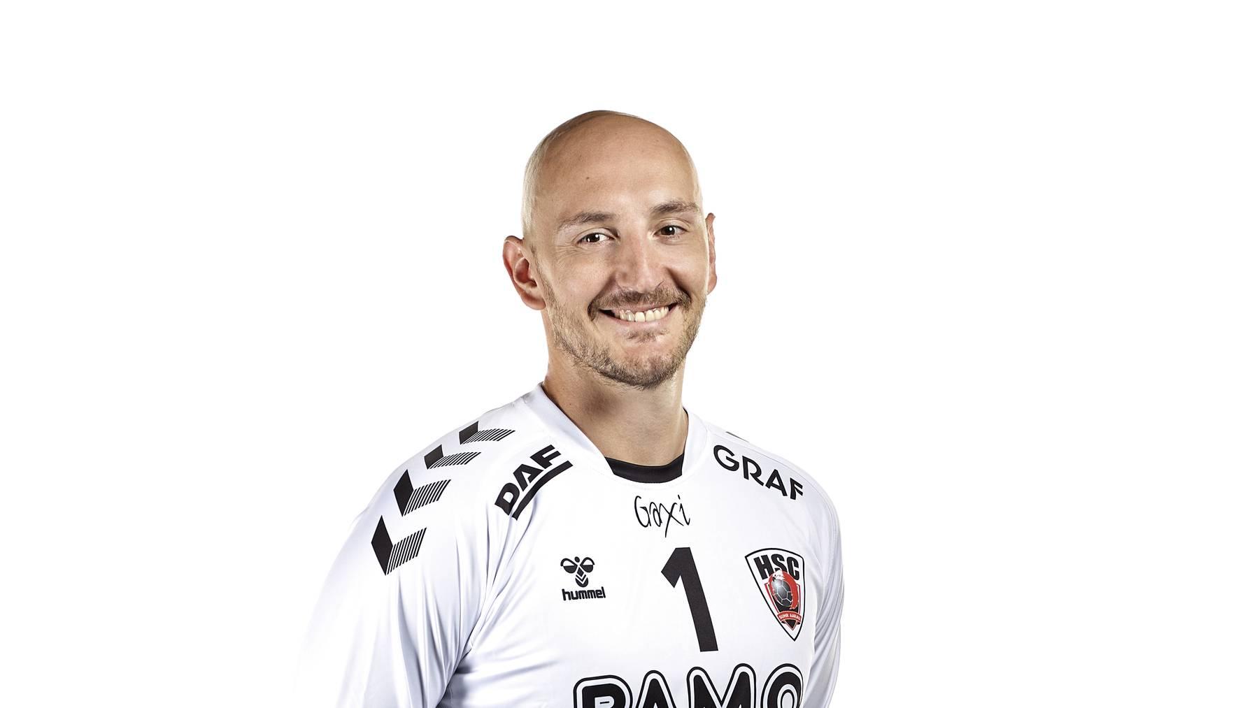 HSC Suhr Aarau Torhüter Dragan Marjanac