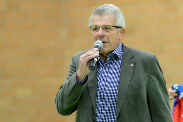 Präsident Werner Schmid hat im Verein das Sagen.