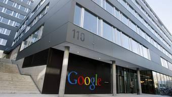 Das Google-Hauptquartier in Zürich.