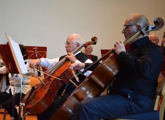Das Senioren-Orchester der Region Baden lud zur Geburtstags-Matinée ins Schulhaus Margeläcker