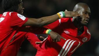 Moussa Sow traf für Lille zum 3:0
