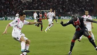 Julien Quercia (l.) erzielte den Siegtreffer für Lorient