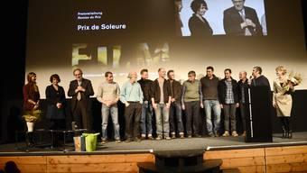 Preisverleihung Filmtage: Prix de Soleure und Prix du Public