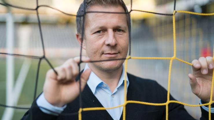 Strahlt Ruhe aus: Christoph Spycher.