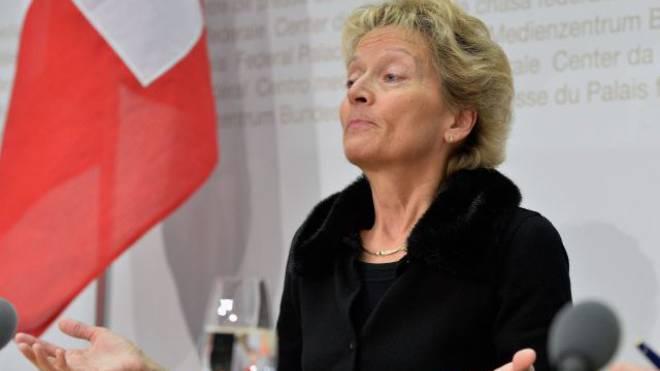 Finanzministerin Eveline Widmer-Schlumpf. Foto: KEYSTONE