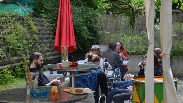 Das Jugendkulturhaus Piccadilly in Brugg lud zum Tag der offenen Tür, damit die ältere Generation weiss, was die Jugendlichen da so machen.