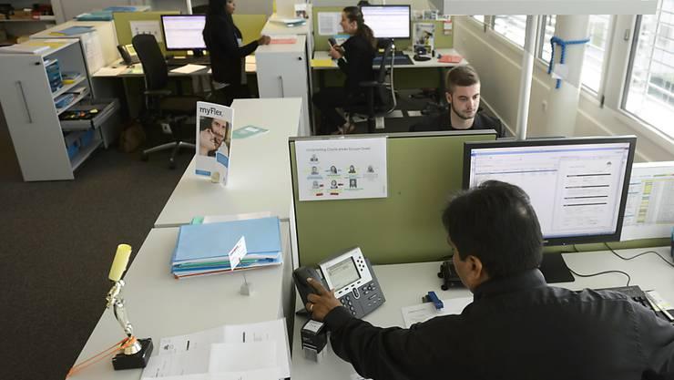 Laut einer Studie der Universität Oxford werden künftig nicht nur Routinetätigkeiten automatisiert, auch viele Bürojobs sollen der sogenannten vierten industriellen Revolution zum Opfer fallen (Archiv).