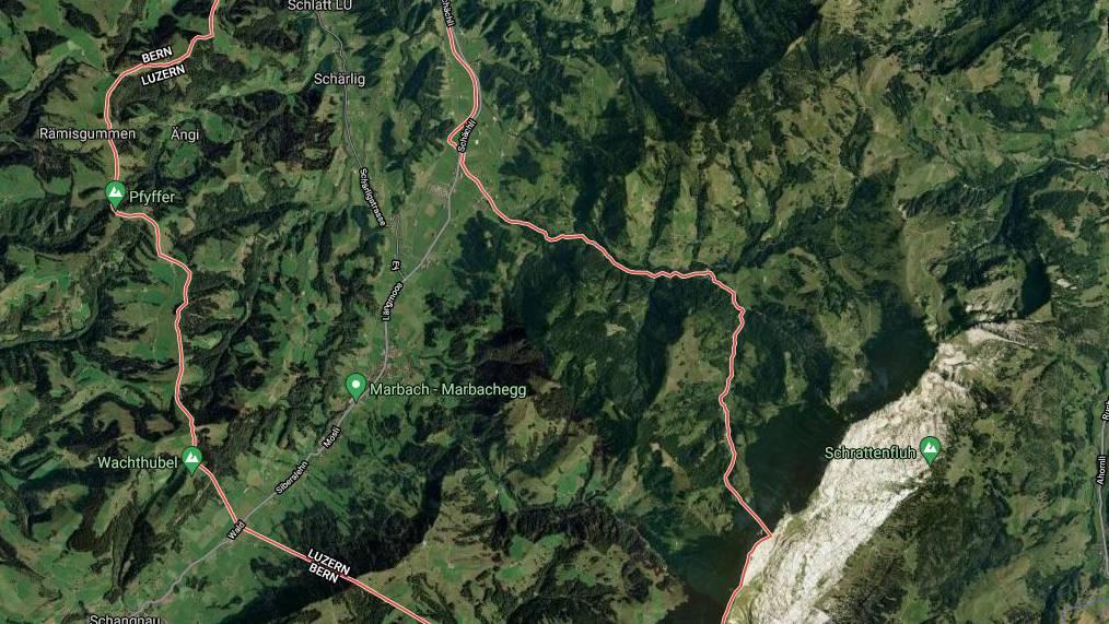 Der 57-Jährige konnte im Gebiet Marbach nur noch tot geborgen werden.
