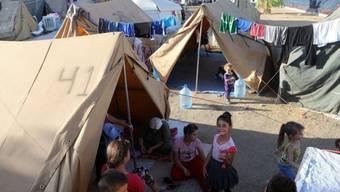 Flüchtlinge bei Erbil im Nordirak (Archiv)