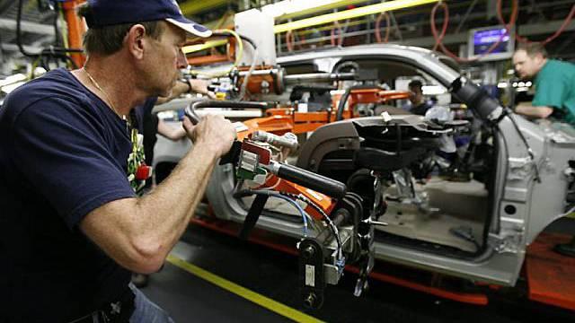 Angestellter bei General Motors (Archiv)