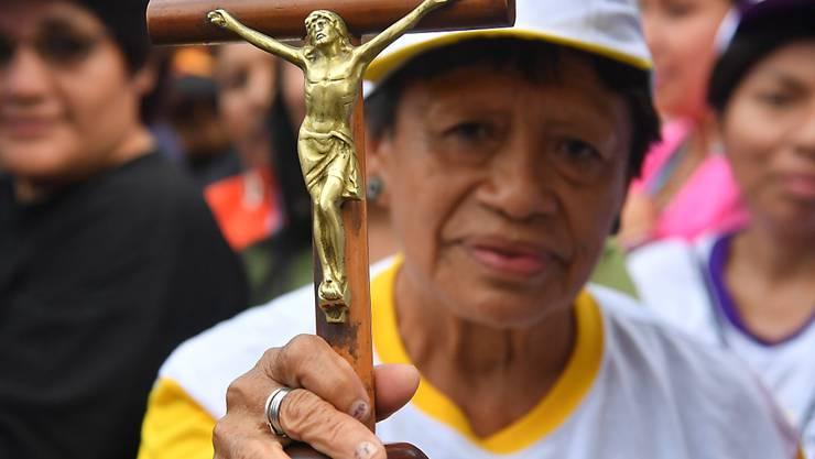 """Papst Franziskus sprach bei der häuslichen Gewalt gegen Frauen in Südamerika von einer """"Plage""""."""