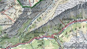 Im Gental im östlichen Berner Oberland hat ein Jäger am Freitagabend einen Bären gesichtet.