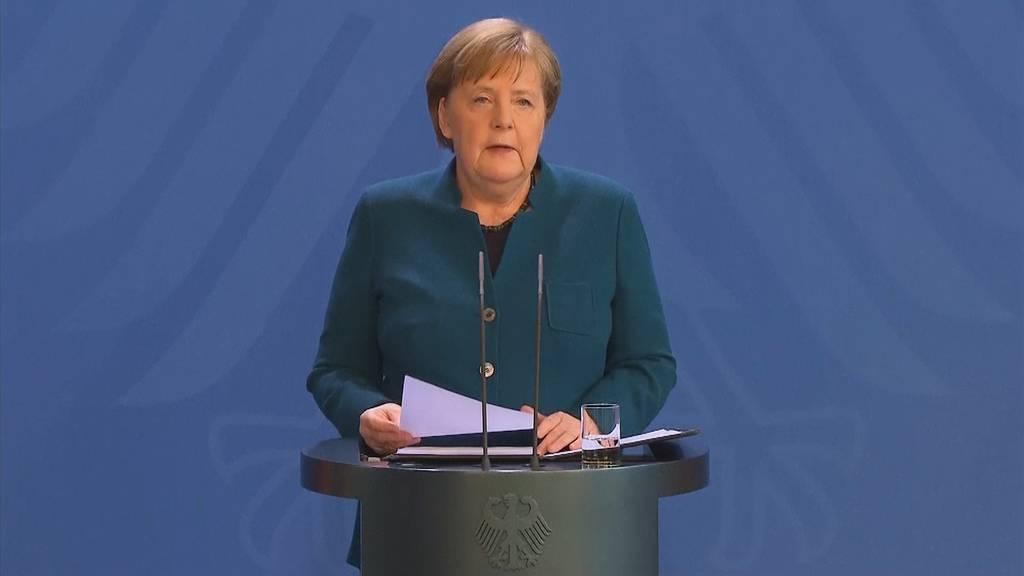 Angela Merkel muss in Quarantäne