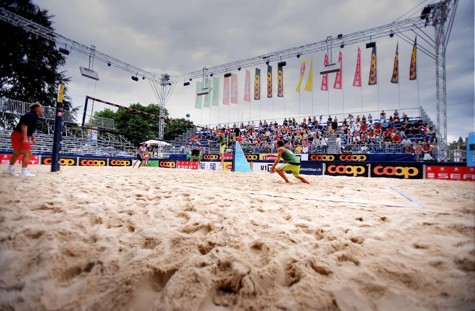 Die Coop Beachtour ist vom 26. bis 29. August in Rorschach.