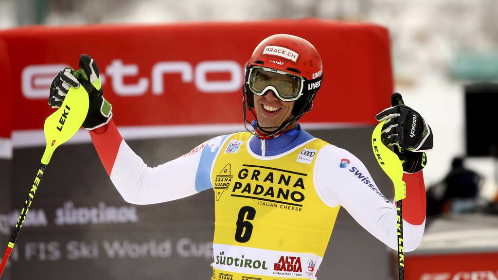 Starke Schweizer: Ramon Zenhäusern gewinnt in Alta Badia