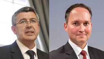 Wirtschaftsvertreter und neu auch Volksvertreter: Josef Maushart (L. CVP) und Simon Michel (FDP, beide Solothurn