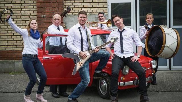 Die Berner Heilsarmee-Band darf am Eurovision Song Contest erst als zweitletzte auf die Bühne (Quelle: Heilsarmee Schweiz/Simon Opladen)