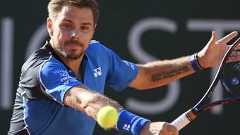 Stan Wawrinka konnte in Genf noch nicht sein bestes Tennis zeigen