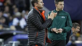 Verhaltener Applaus von Chelsea-Coach Frank Lampard: Das Remis in Valencia mag ihm nicht komplett zu gefallen