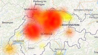 UPC-Dienste sind in der Schweiz teilweise nicht erreichbar.