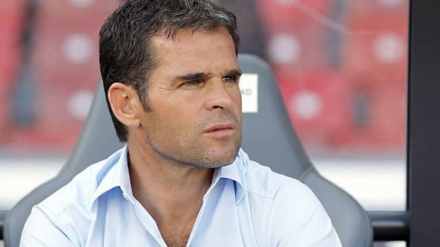 Xamax-Trainer Didier Ollé-Nicolle ist seinen Job los.