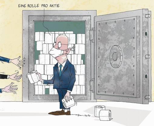 Die härteste Währung: WC-Papier wurde gehortet wie eine Geldanlage.