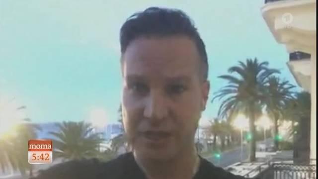 Journalist Richard Gutjahr erlebte den Anschlag in Nizza live mit und berichtet dem Morgenmagazin auf ARD.